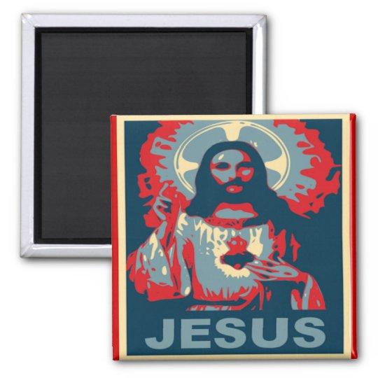 Jesus Magnet (Obama Style)