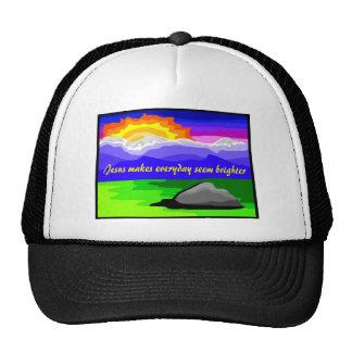 Jesus makes everyday brighter trucker hat