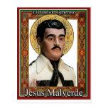 Jesús Malverde, el bandido abundante Tarjetas Postales