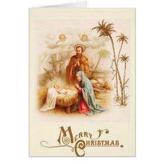 Jesus, Mary, and Joseph Card