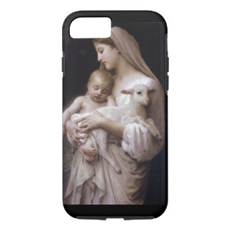 JESUS, MARY AND THE LAMB. iPhone 7 CASE
