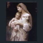"JESUS, MARY AND THE LAMB. PHOTO PRINT<br><div class=""desc"">JESUS,  MARY AND THE LAMB. SACRED IMAGE OF THE BABY JESUS WITH HIS MOTHER,  MARY,  AND THE SACRIFICIAL LAMB.</div>"