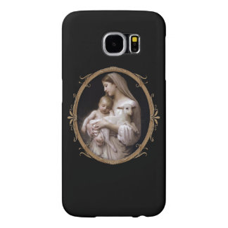 JESUS, MARY AND THE LAMB. SAMSUNG GALAXY S6 CASES