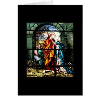 Jesus & Mary Card