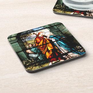 Jesus & Mary Drink Coaster