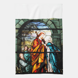 Jesus & Mary Hand Towels
