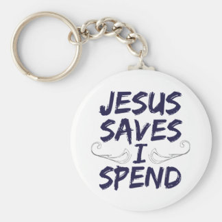 Jesús me ahorra pasa llavero redondo tipo pin