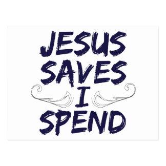 Jesús me ahorra pasa postales