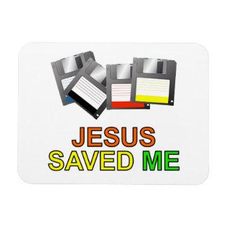 Jesús me ahorró (del disco blando) imanes flexibles