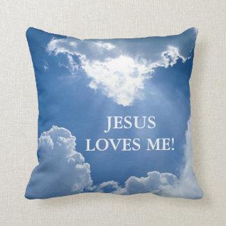 Jesús me ama almohada