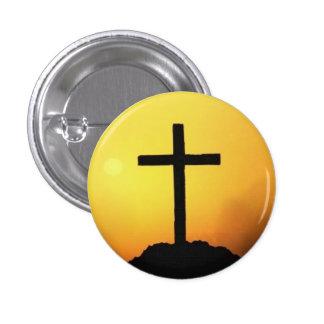 Jesús me ama botón pin redondo de 1 pulgada