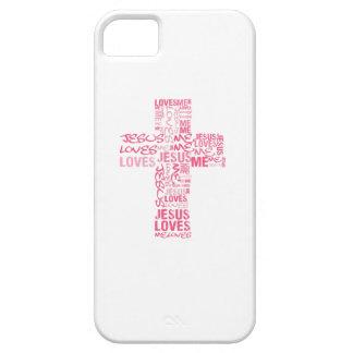 JESÚS ME AMA CASO DE IPHONE 5 iPhone 5 CARCASA