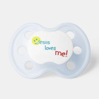 ¡Jesús me ama!  Colección Chupete De Bebé