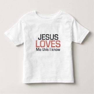 Jesús me ama, éste que sé playera