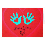¡Jesús me ama! Felicitaciones