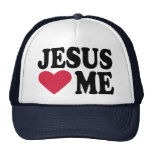 Jesús me ama gorras de camionero