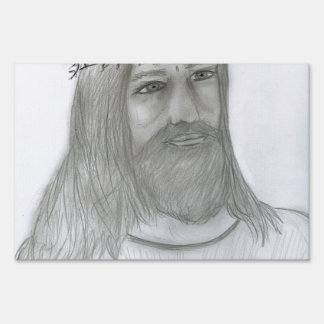 Jesús me ama letrero
