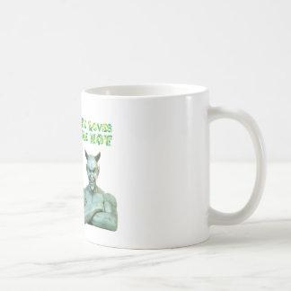 Jesús me ama… los amores satan yo no… taza de café