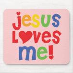 ¡Jesús me ama! - Mousepad Alfombrilla De Raton