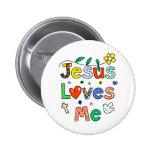 Jesús me ama pin