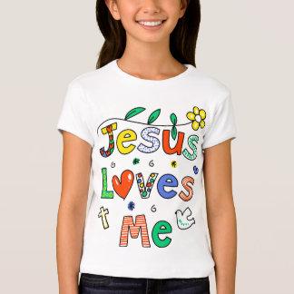 Jesús me ama playera