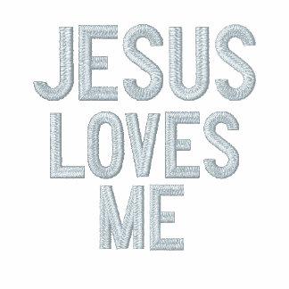 Jesús me ama que Jesús le ama - camiseta
