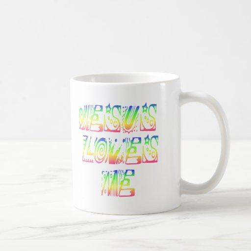 ¡Jesús me ama! Taza De Café