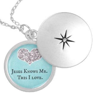 Jesús me conoce, éste cita del amor de I Pendiente