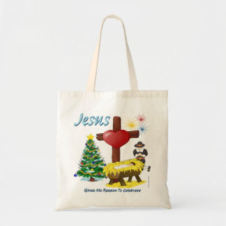 Jesús me da razón para celebrar el bolso bolsas de mano