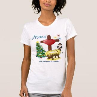 Jesús me da razón para celebrar la camisa