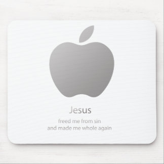 Jesús me hizo entero mouse pads
