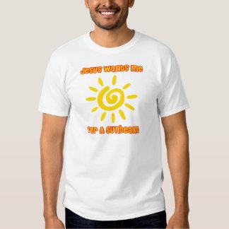 Jesús me quiere para un rayo de sol remeras