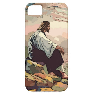 Jesus Meek and Mild iPhone SE/5/5s Case