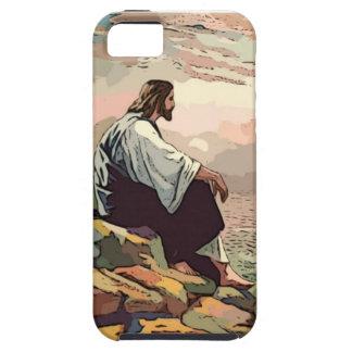 Jesus Meek and Mild iPhone SE/5/5s Case