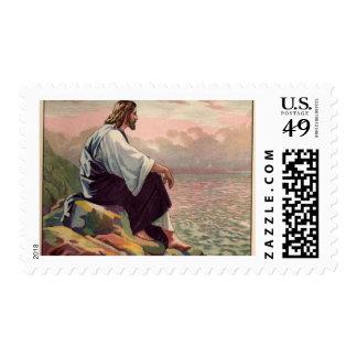 Jesus Meek and Mild Stamps