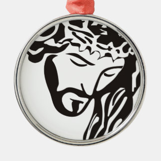 Jesus Metal Ornament