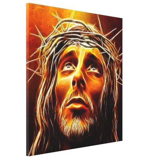 Jesús: Mi dios porqué téngale abandonado me Impresiones De Lienzo