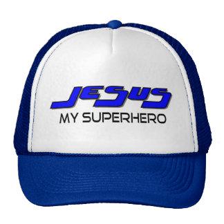 Jesús mi super héroe gorras de camionero