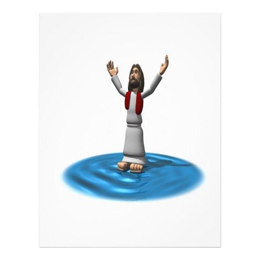 Jesus Miracle Flyer Design