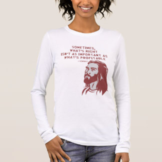 Jesus misquote long sleeve T-Shirt