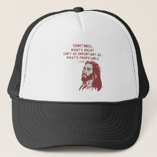 Jesus misquote trucker hat