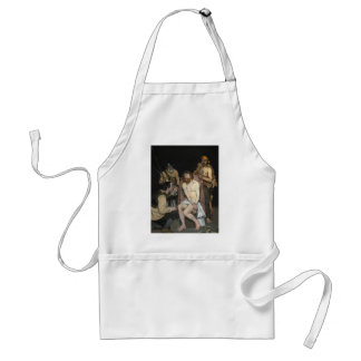 Jesus Mocked by the Soldiers by Edouard Manet Adult Apron