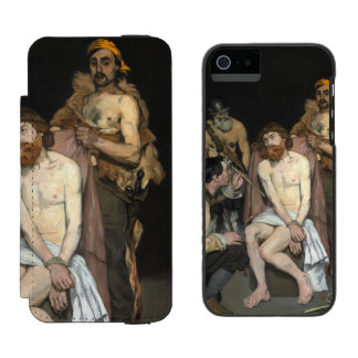 Jesus Mocked by the Soldiers by Edouard Manet iPhone SE/5/5s Wallet Case