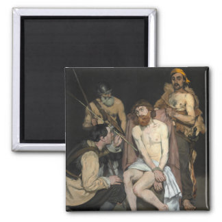 Jesus Mocked by the Soldiers by Edouard Manet Refrigerator Magnets