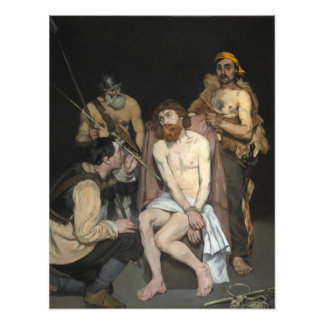 Jesus Mocked by the Soldiers by Edouard Manet Photo Print