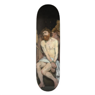 Jesus Mocked by the Soldiers by Edouard Manet Skate Deck
