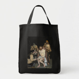 Jesus Mocked by the Soldiers by Edouard Manet Tote Bag