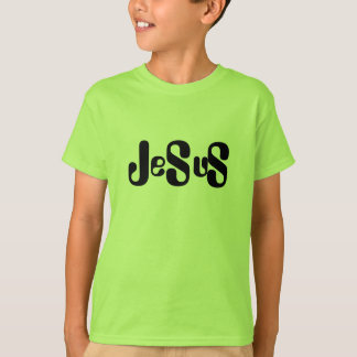 Jesus Monogram Style Design on the Front T-Shirt