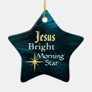 Jesus Morning Star Customized Ornament