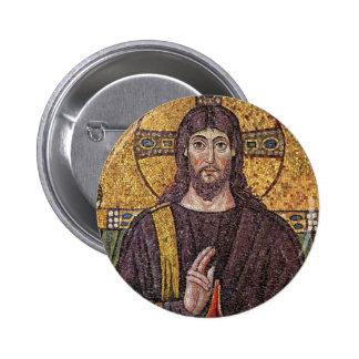 Jesus Mosaic 2 Inch Round Button